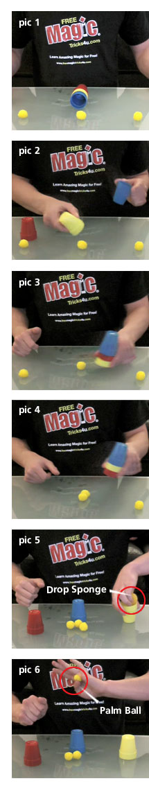 magic tricks for kids the cup and balls trick