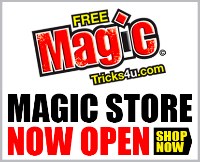 Magic Store Now Open!