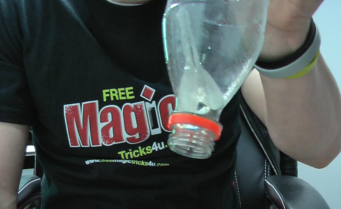key magic trick