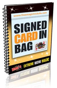 Signed Card in Bag eBook