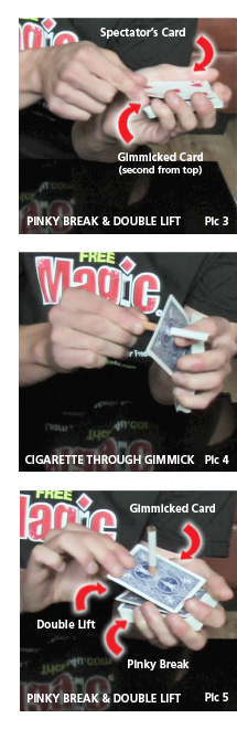 learn how to do cigarette magic tricks