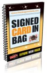 Signed Card in Bag eBook