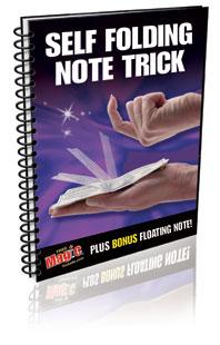 Self Folding Note eBook
