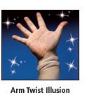 arm twist illusion