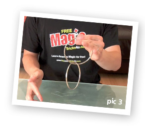 The Chinese Linking Rings Trick