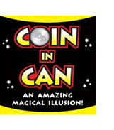 Coin in (through) Can Illusion, Criss Angel
