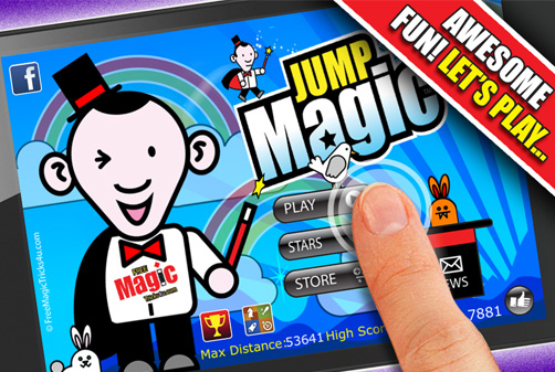 Jump Magic App iTunes screen Shot 1