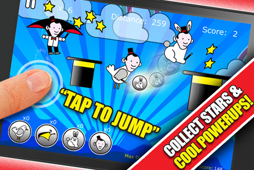 Jump Magic App iTunes screen Shot 2