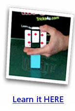 Zig Zag Card Trick