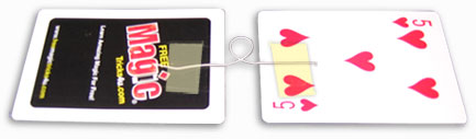 learn free card tricks like the rising card