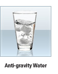 anti-gravity water
