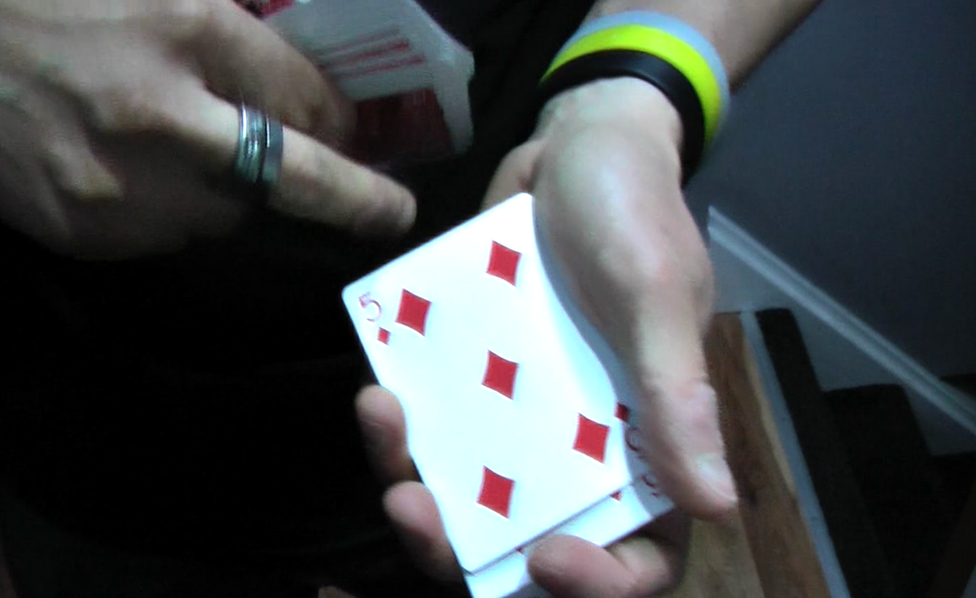 magic trick with cards