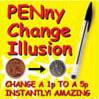 penny change