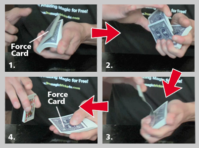 easy magic card tricks the riffle forceeasy magic card tricks