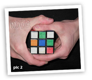 rubiks cube magic