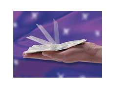 Self folding note free magic trick