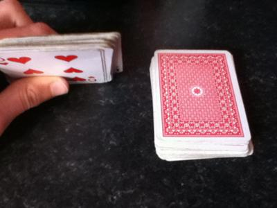 how to collect the cards to get a