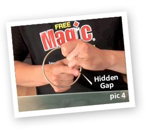 chinese linking rings illusion