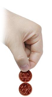 coin magic tricks - spinning coins