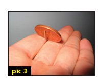 coin balance magic trick
