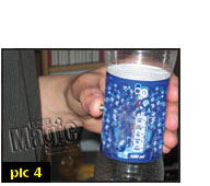 free magic tricks - coin in bottle