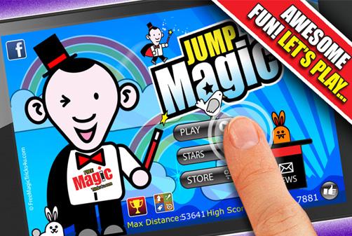 Jump Magic App iTunes screen Shot 1