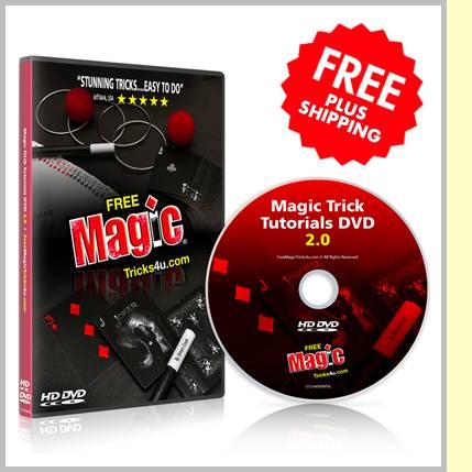 23f24a0e04c Free DVD Just Pay Shipping! Magic Tutorial DVD 2.0