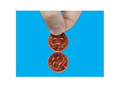 Magic spinning coins cool free coin trick