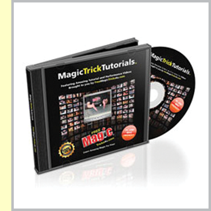 Our flag ship product the Magic Trick Tutorial CD is jam packed full of incredible magic tricks.