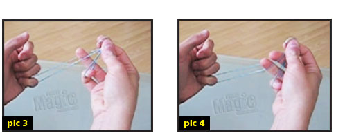 rubber band magic tricks